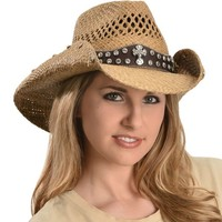 Bullhide More Than Words Panama Straw Cowgirl Hat - Sheplers