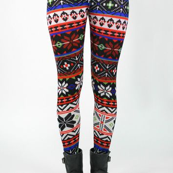 Wild Wind Sweater Leggings