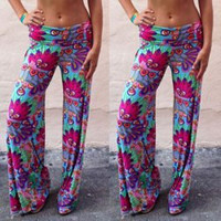 Multi Color Printed Pants