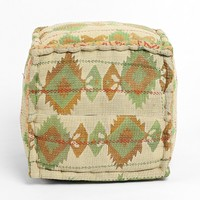 One-Of-A-Kind Kantha Pouf - Urban Outfitters