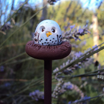 Fairy Garden Owl Pet Polymer Clay Miniature Garden