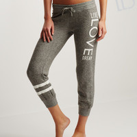 LLD Love Stripe Jogger Sweatpants
