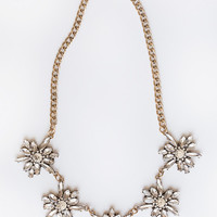 Celine Crystal Statement Necklace