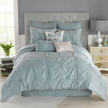 Anthology Whisper Comforter Set in Spa