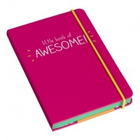 Happy Jackson Little Book of Awesome Pink Journal Notebook, Notebook A6,Hardback notebook