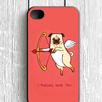 I Pug Love iPhone 4 Case