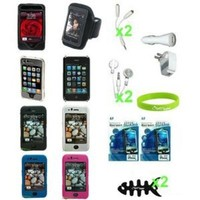 CrazyOnDigital Full Accessory Bundle for Apple iPod and iPhone 3G/3GS