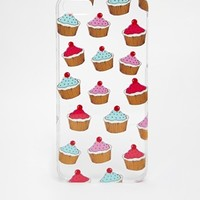 ASOS Cupcake Clear iPhone 5 Case
