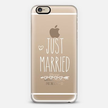 Just Married iPhone 6 case by Allison Reich | Casetify
