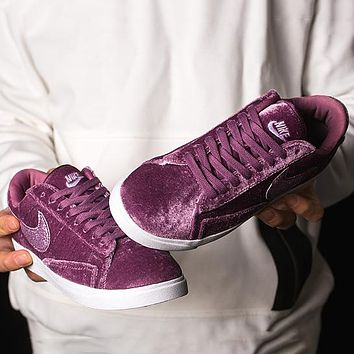 Nike Blazer Low LX Velvet Fashion Old Skool Sneakers Sport Shoes