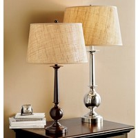 Gillian Candlestick Bedside Lamp Base