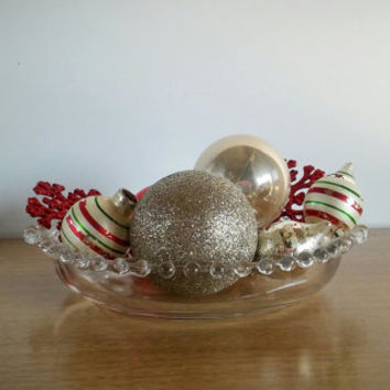 Imperial Glass Candlewick Divided Relish Dish, Vintage Candlewick Glass Dish