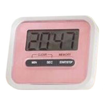 Digital Kitchen Timer Count Down Up Magnetic   pink