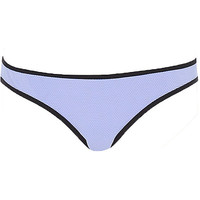 River Island Womens Light purple textured bikini bottoms