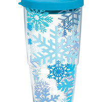 Snowflakes - Wrap with Lid | 24oz Tumbler | Tervis®