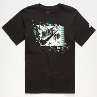 Nike Sb Once Bit Boys T-Shirt Black  In Sizes
