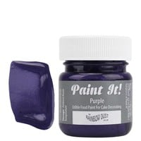 Purple Edible Paint POT