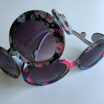 Toddler Sunglasses FLORAL (fits ages 6 months to 10)