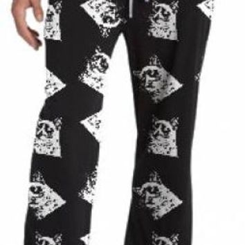 Grumpy Cat Lounge Pants - Black Grumpy