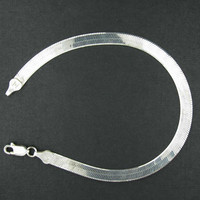 Sterling Silver Bracelet Made in Italy 925