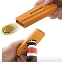 Home Created Beer Bottle Opener Eject Cap Shooting for Fun