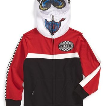 Boy's Volcom 'In the Race' Mask Hoodie