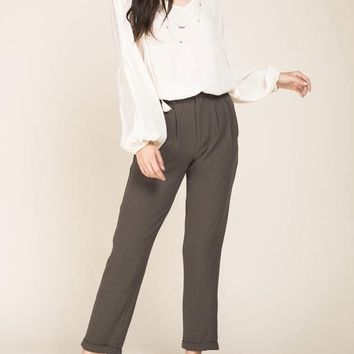 CLASSIC OFF WHITE BLOUSE