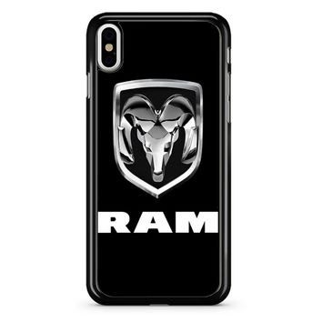 Dodge Ram Truck Logo iPhone X Case