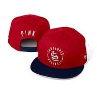 St. Louis Cardinals Colorblock Baseball Hat  - PINK - Victoria's Secret
