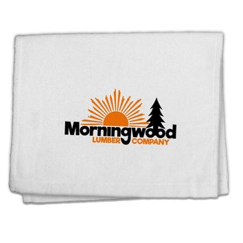 """Morningwood Company Funny 11""""x18"""" Dish Fingertip Towel by TooLoud"""