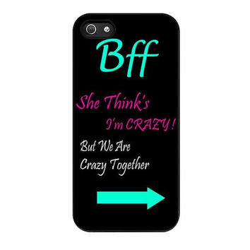 best friends bff in pairs left 1 cases for iphone se 5 5s 5c 4 4s 6 6s plus