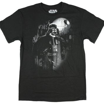 Star Wars Rouge One Young Darth Vader Death Star T-Shirt