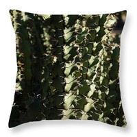 Sharp Shapes And Shadows Throw Pillow