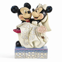 Jim Shore Disney Traditions Mickey & Minnie Wedding Figurine