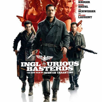 Inglourious Basterds 11x17 Movie Poster (2009)