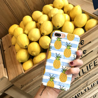 Pineapple iPhone 6 6s Plus & iPhone 7 Plus Case +Gift Box