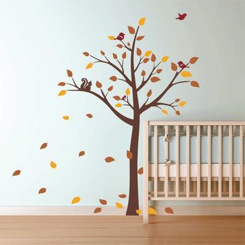 A Tree for All Seasons Nursery Wall decal