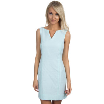 The Avery Seersucker Dress in Mint by Lauren James - FINAL SALE