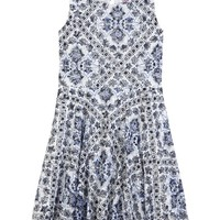 LACE PRINTED FIT & FLARE DRESS | GIRLS DRESSES CLOTHES | SHOP JUSTICE