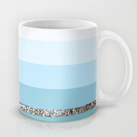 Party Stripes II Mug by Monika Strigel