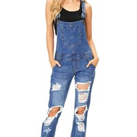 Ace Distress Overalls