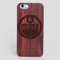 Edmonton Oilers iPhone 6 Case - All Wood Everything