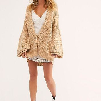 Women's Free People Home Town Cardigan