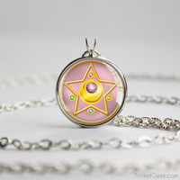 Sailor Moon Crystal Star Crystal Compact pendant