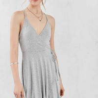 Kimchi Blue Strappy-Back Fixed Wrap Dress