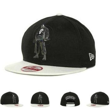 ONETOW Marvel Punisher Action Arch Snaps 9fifty Cap Cap Snapback Hat - Ready Stock