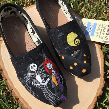 Nightmare Before Christmas inspired shoes