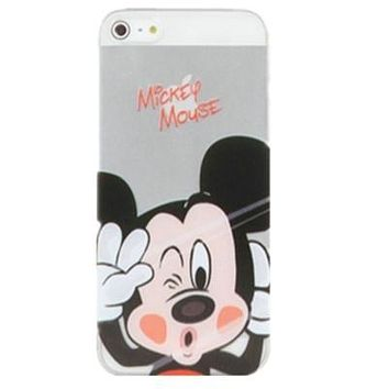 Mickey Mouse Clear Phone Case For iPhone 7 7Plus 6 6s Plus 5 5s SE