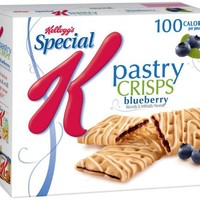 Special K Fruit Crisps, Blueberry, 4.4 oz.  (Pack of 4)