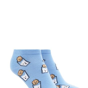 Cookie Print Ankle Socks